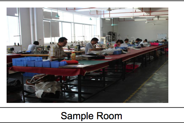sample room