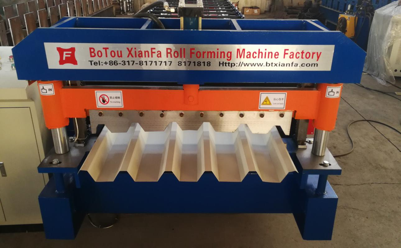 High-speed production IBR Roof roll  forming machine