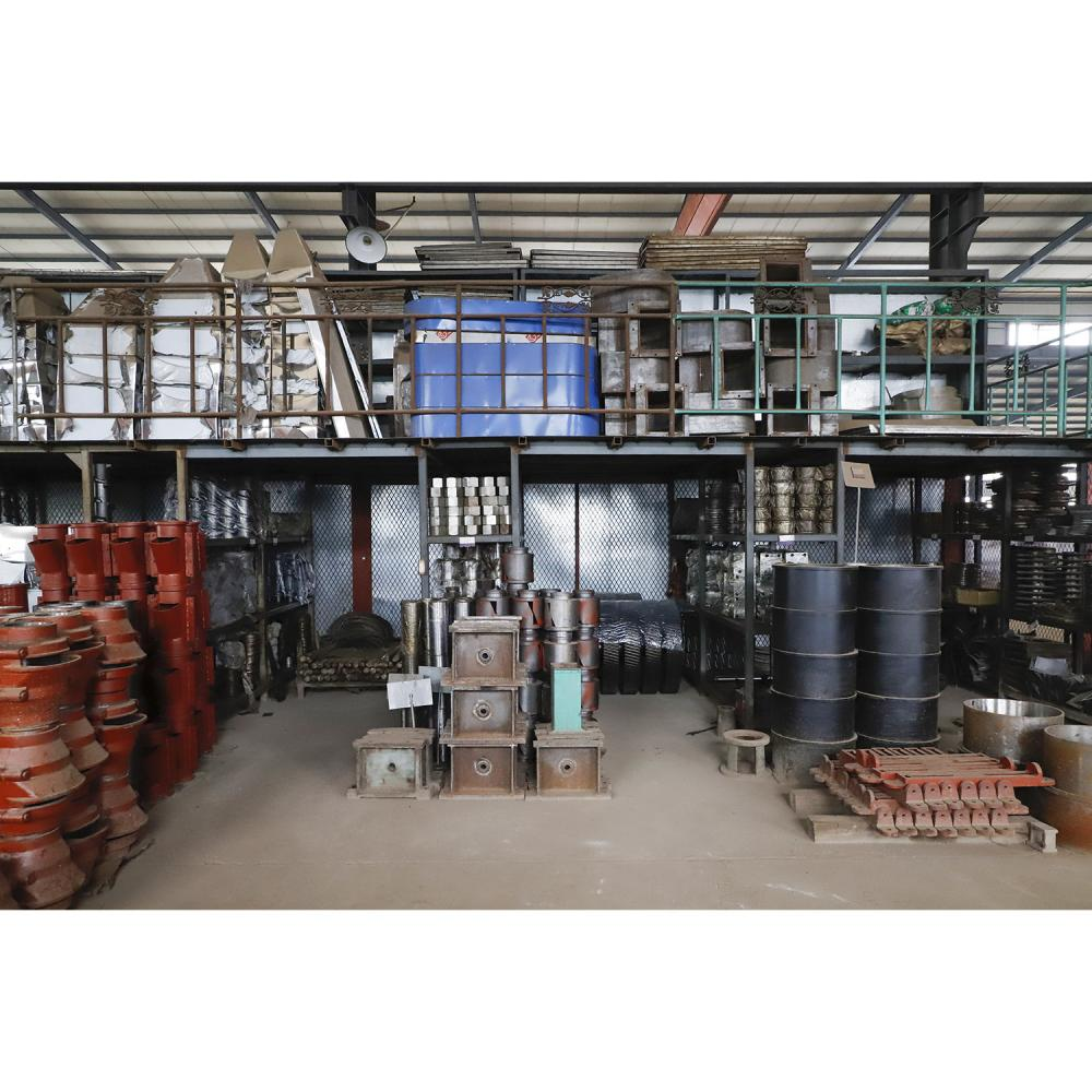 Spare parts warehouse of oil press