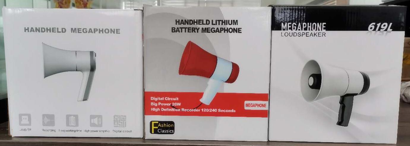 619U handheld megaphone
