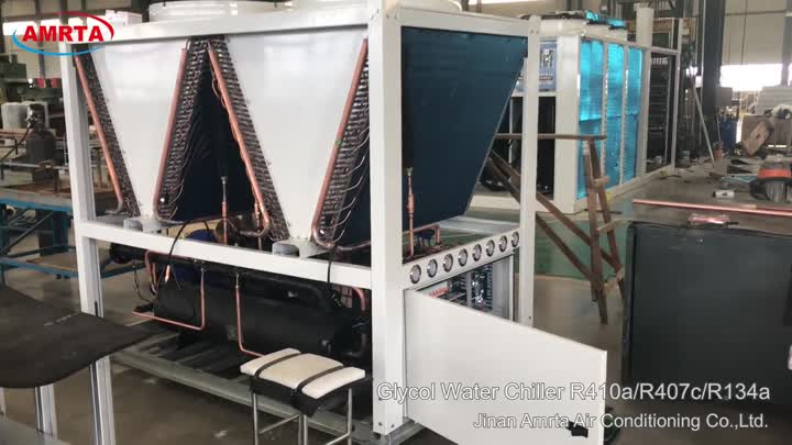Commercial air cooled water chiller