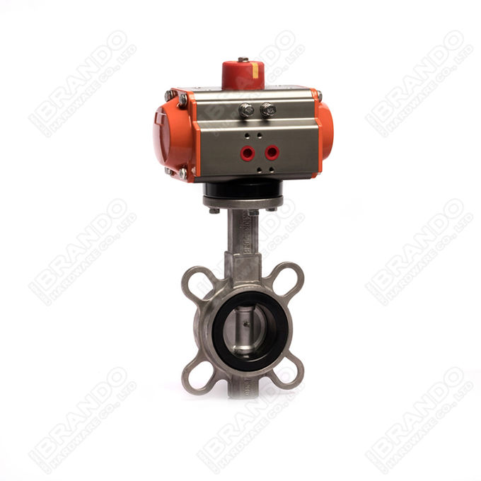 Sanitary Stainless Steel Tri Clamp Ball Valve With Pneumatic Actuator 12