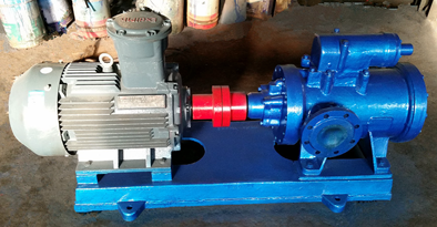 diesel fuel oil transfer three screw pump