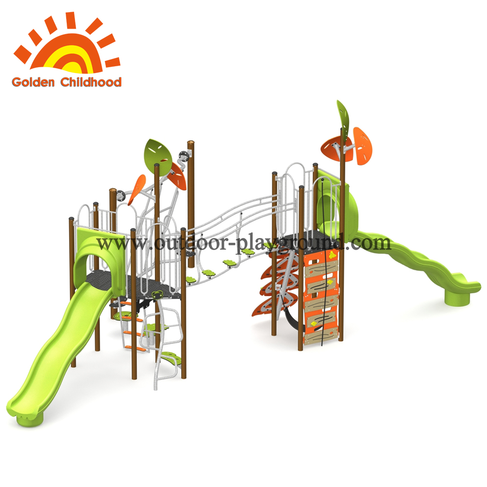 Outdoor Backyard Play Land Structure