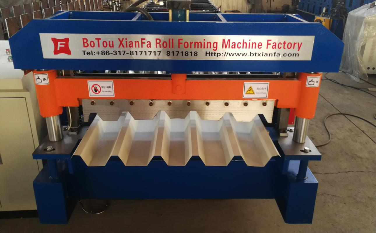 Nigerian Roo fRoll forming machine