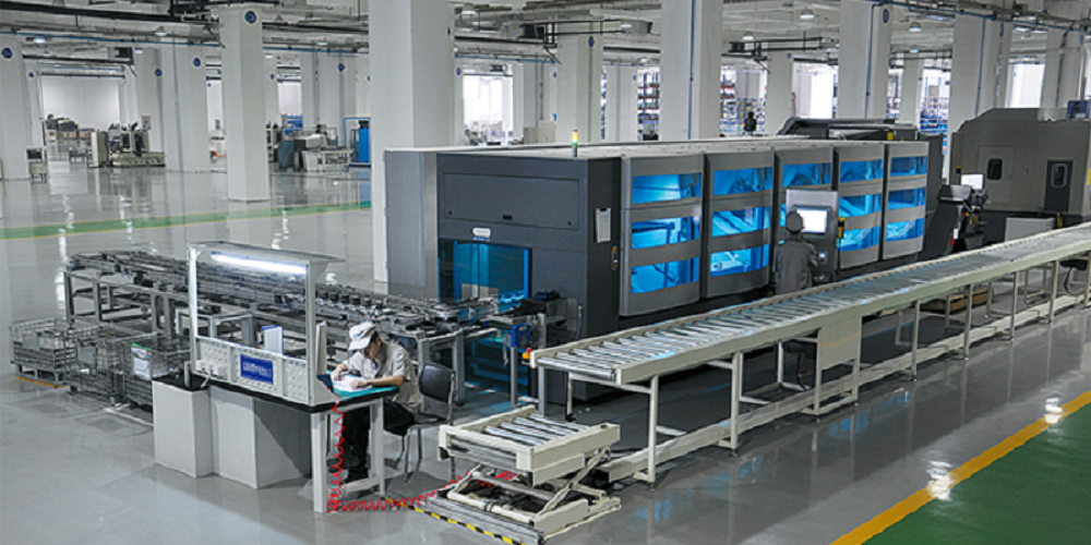 Valve body flexible processing line