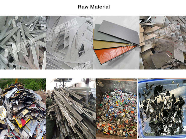 Environmental protection Waste Scrap Aluminum Composite Panel Recycling Machine