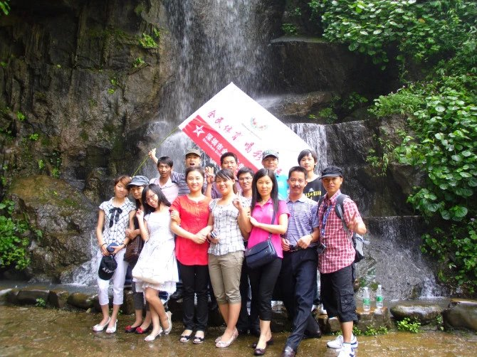 Our Team Travelled in Guilin China in 2011