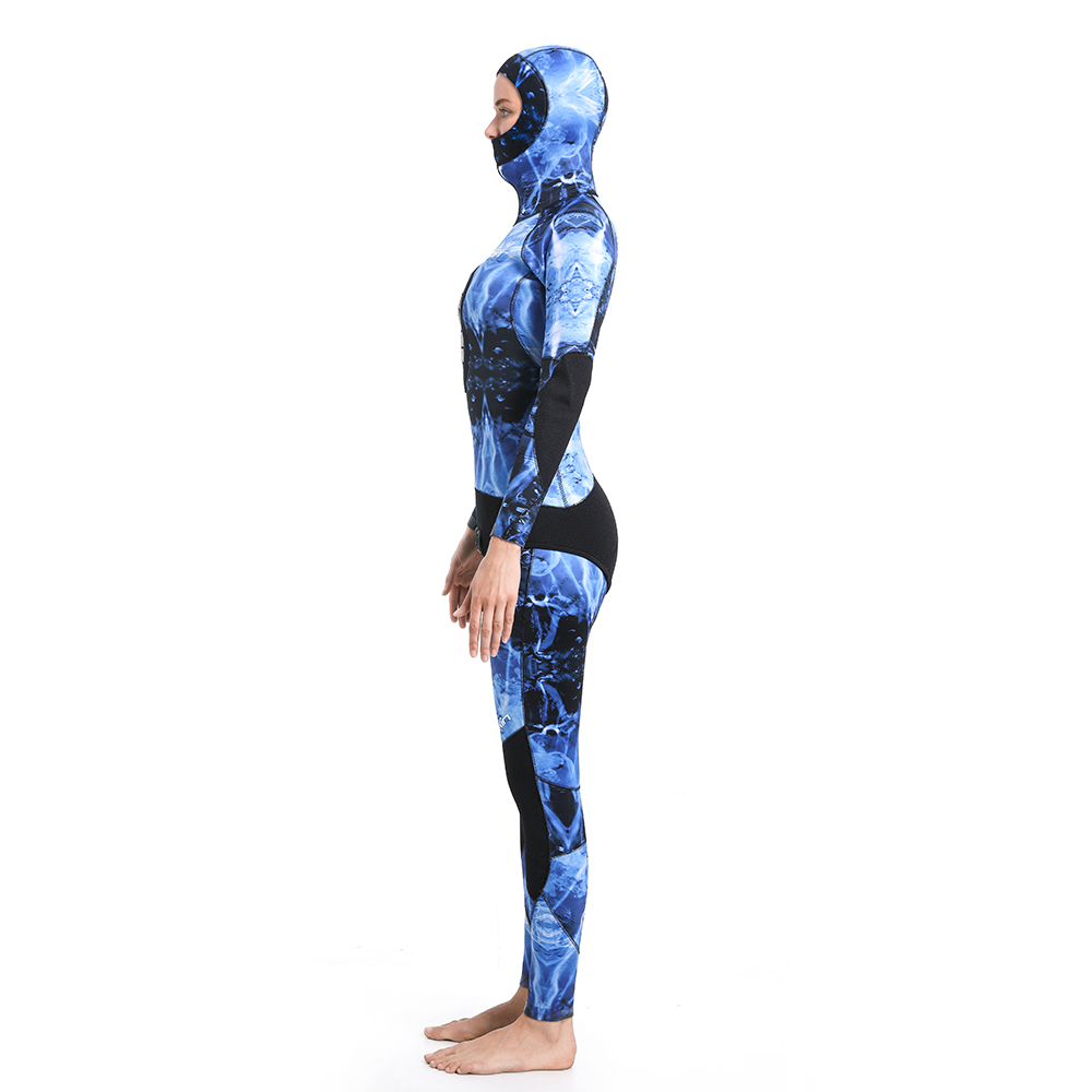 Dw015 Seaskin Women Two Pieces Wetsuit 40