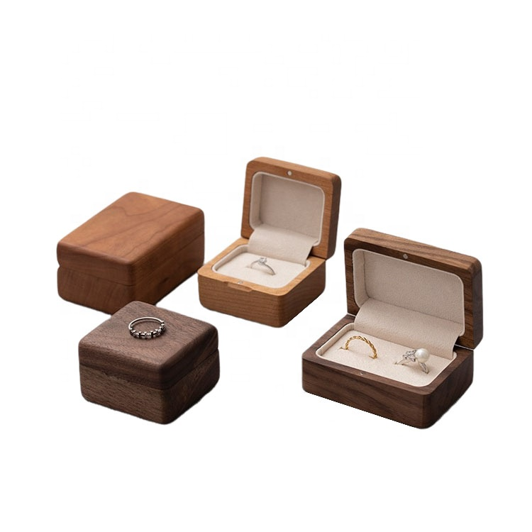 Printed Wooden Jewelry Box