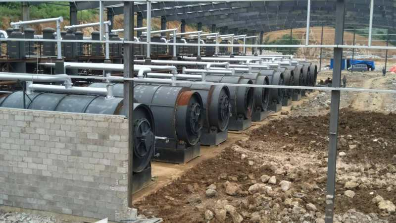 40000 tons Tyre Recycling Project