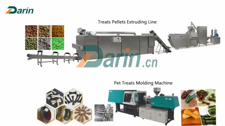 Pet Treats Molding Machinery.mp4