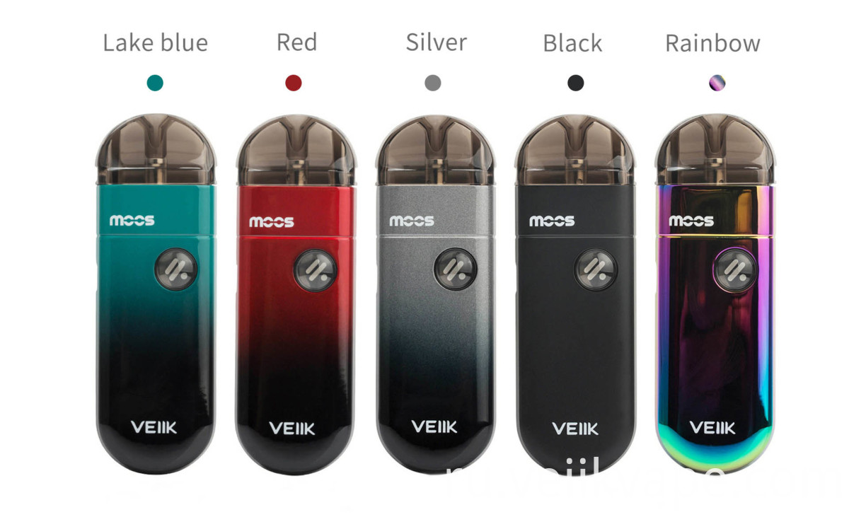 veiik moos all color vape pod