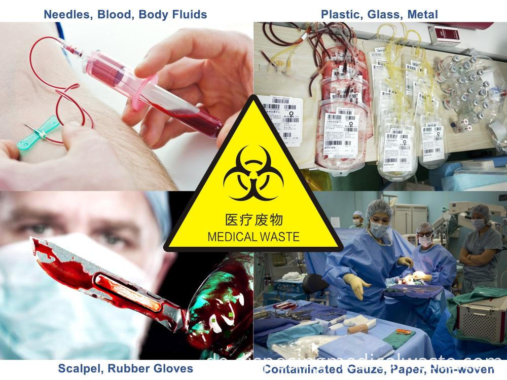 Types of medical waste