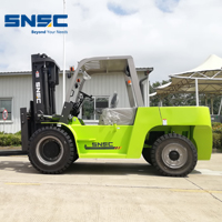 SNSC heavy duty 8 ton diesel forklift for Africa steel factory