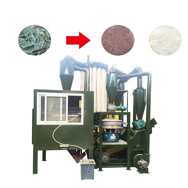 Ewaste Cpu Board Recycling Machine Gold Refining Machine Metal Recycling Plant