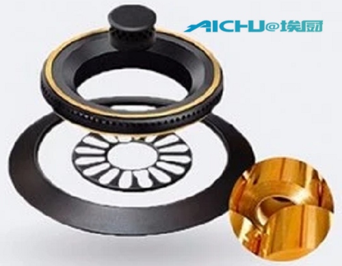 Table Gas Stove Knob With 2 Burners
