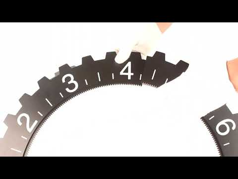 Gear Wall Clock Assembling