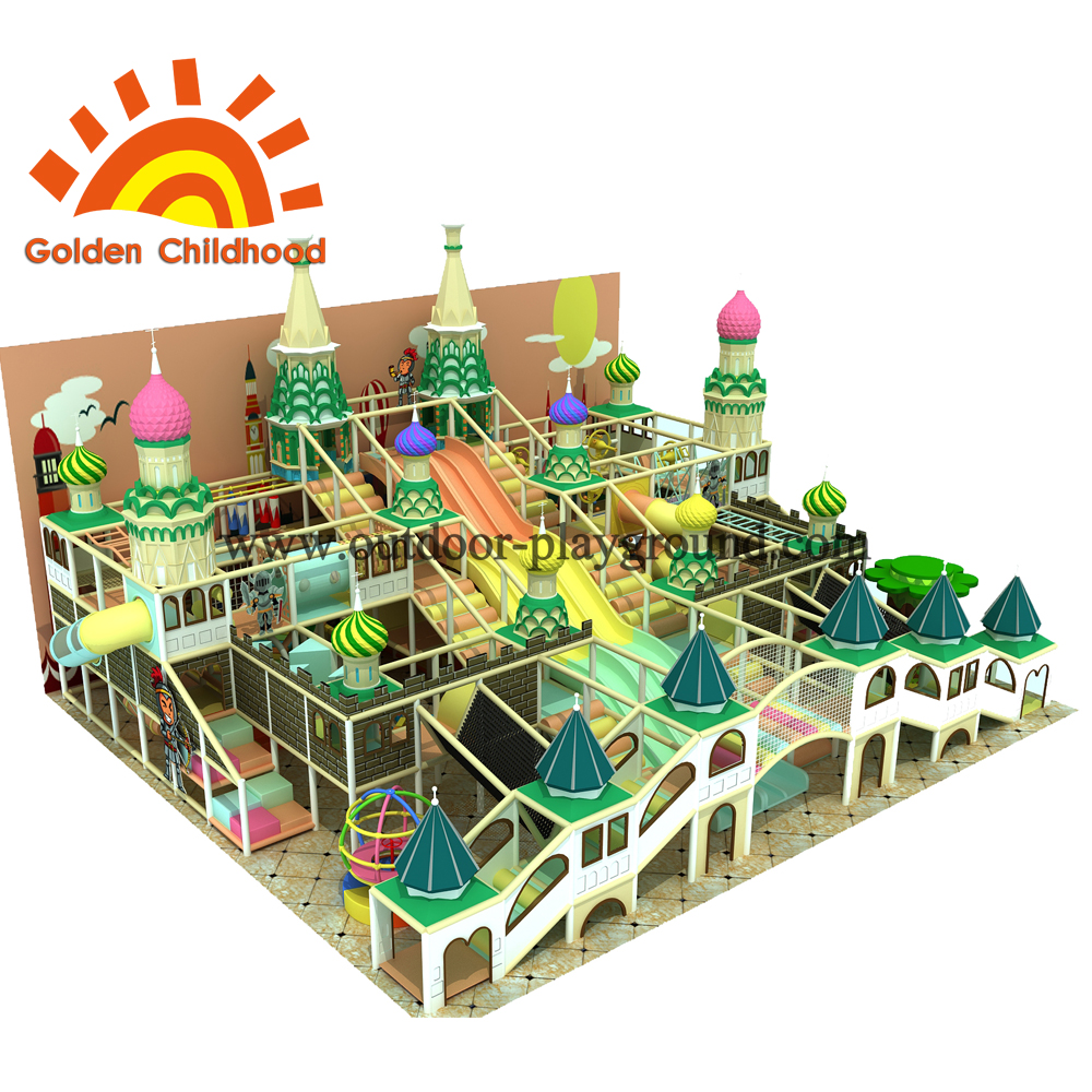Christmas Style Indoor Playground Equipment For Sale