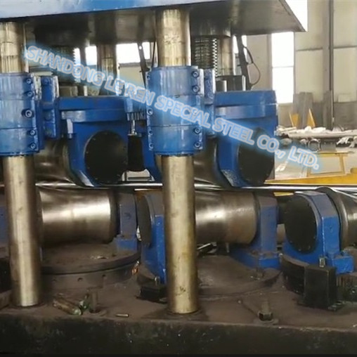Steel Bar Straightening Processing