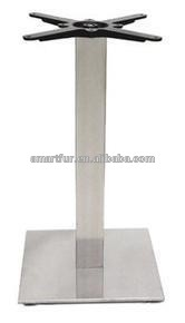 restaraunt square stainless steel table feet