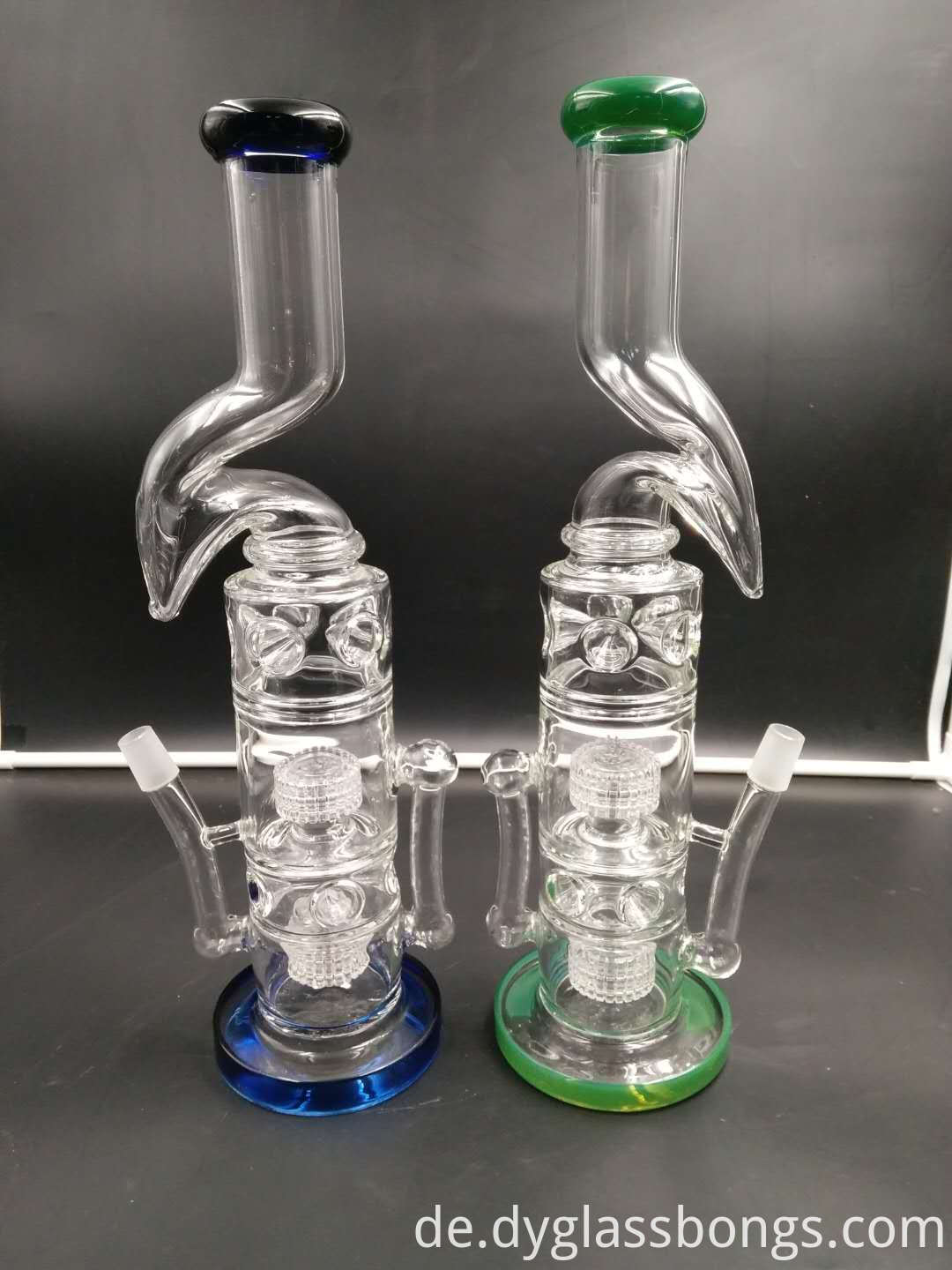 16 inch Ice Catcher Unique Bubbler Hookahs