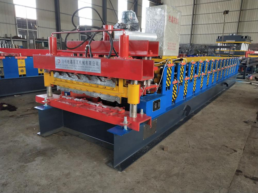 double layer steel roof forming machine