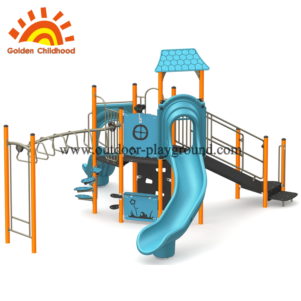 commercial outdoor children playground