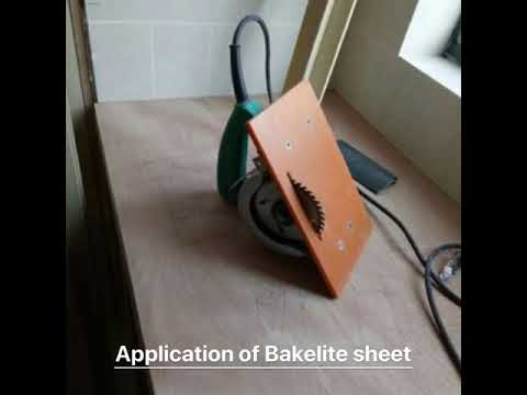 Bakelite sheet application