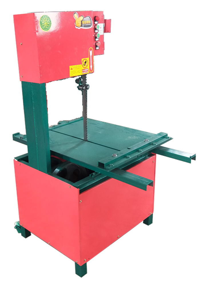 Vertical environmental band saw blade brick cutting machine