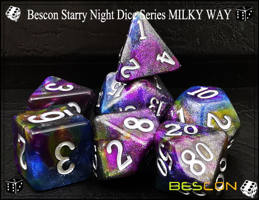 Starry Night Dice-10