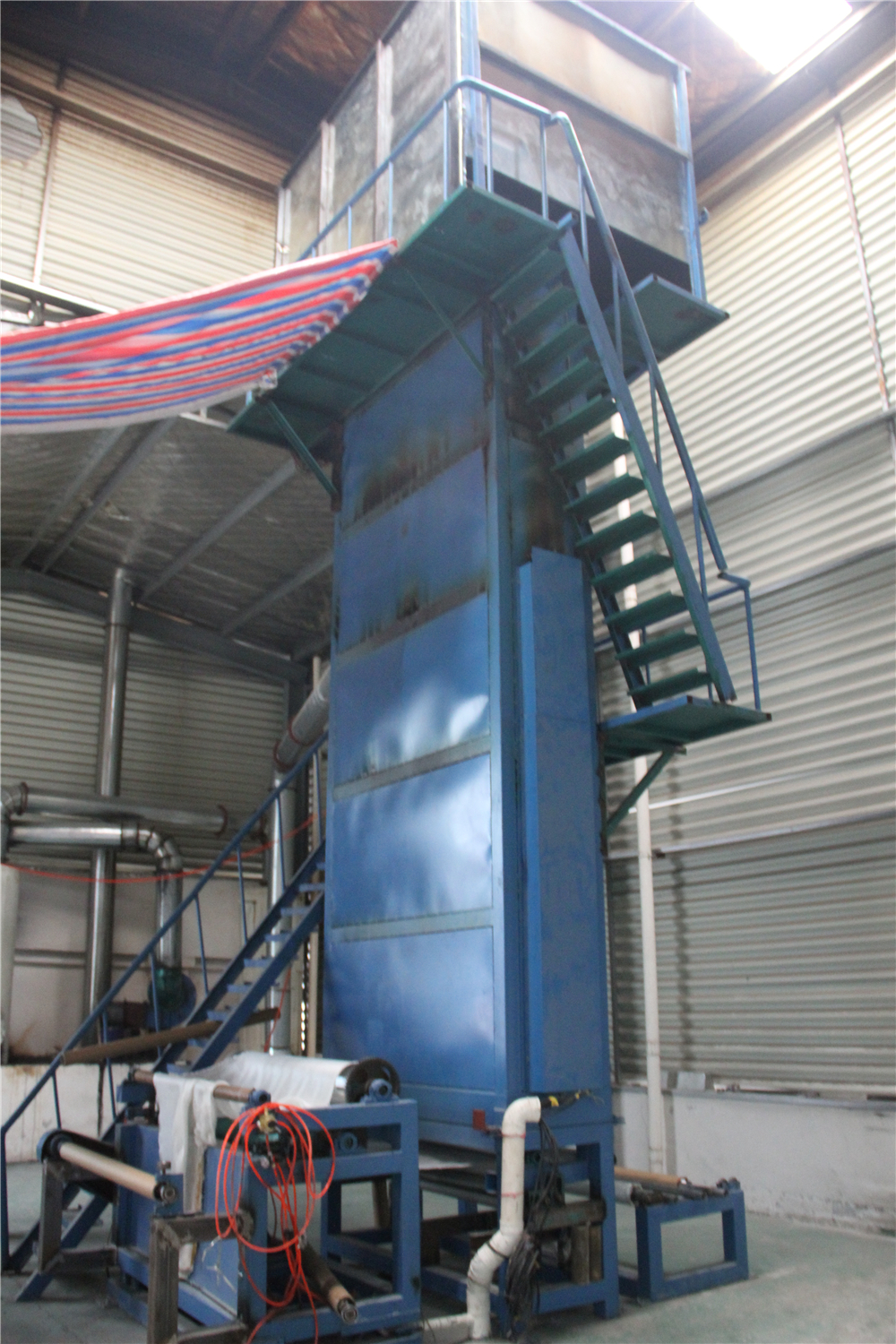 Fiberglass Cloth Heat Treated Machine