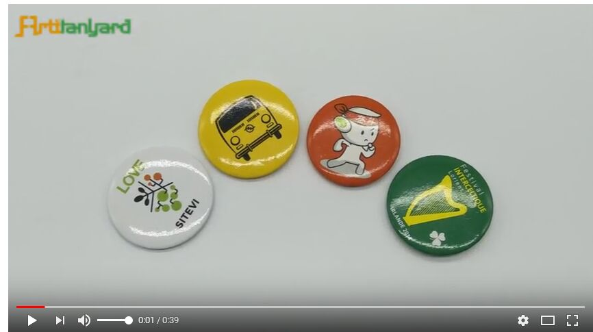 Customized Tin Button Badge With Customized Logo, What's Button Badge?
