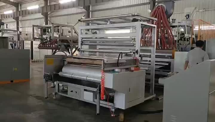 Cliente de Ecuador CL-65/90 / 65A Pallet Stretch Film Equipment.mp4