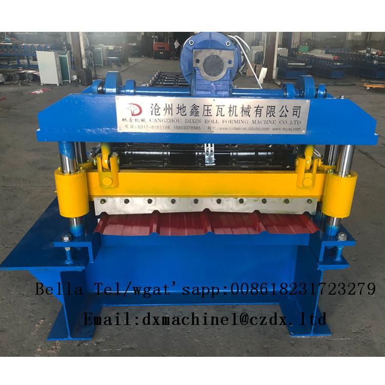 metal roof sheet roll forming machine in stock