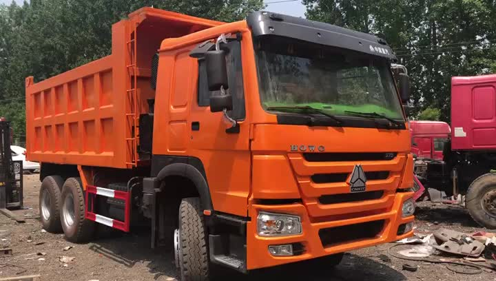 Camion benne 375HP d'occasion