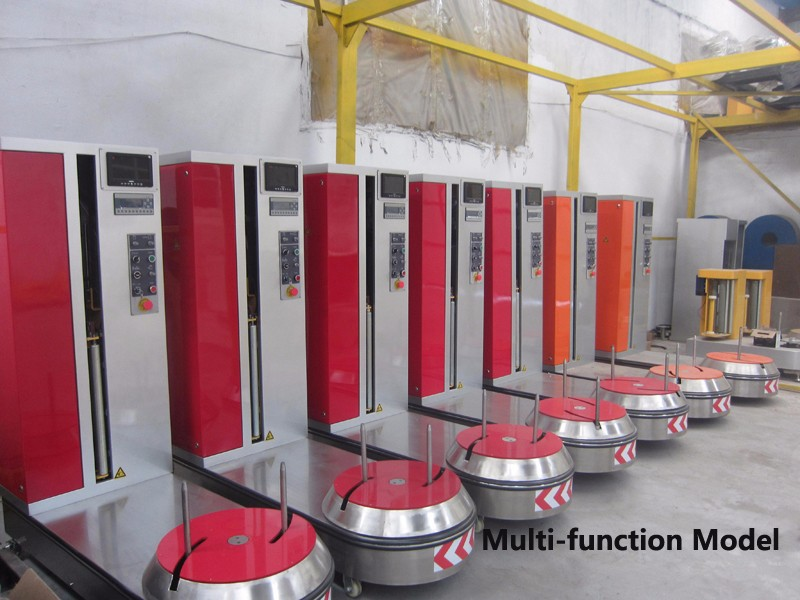 Intelligent wrapping packaging machine
