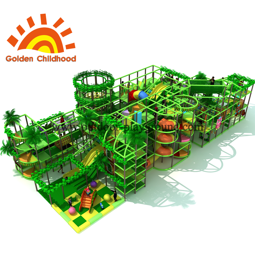 Jungle Forest Indoor Playground Equipment
