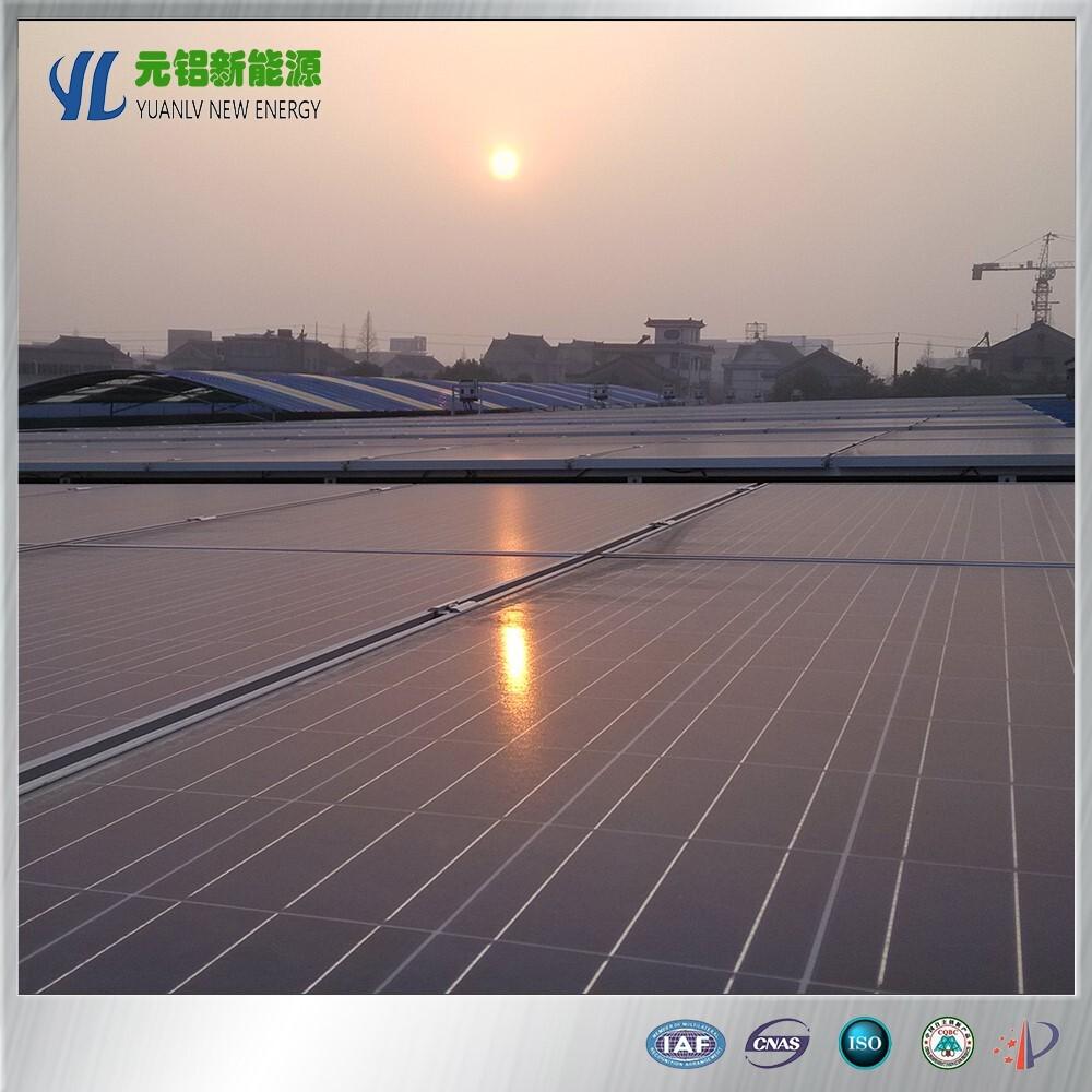 aluminum solar energy systems