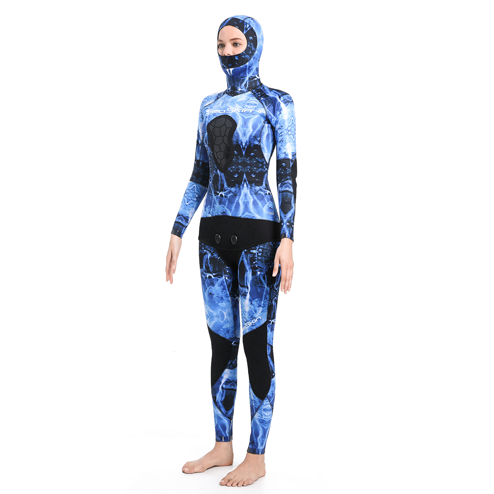 Dw015 Seaskin Women Two Pieces Wetsuit 39