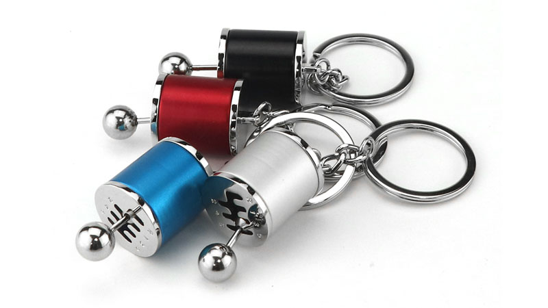 Wholesale Car Fans Gifts Zinc Alloy Gear Shift Keychain