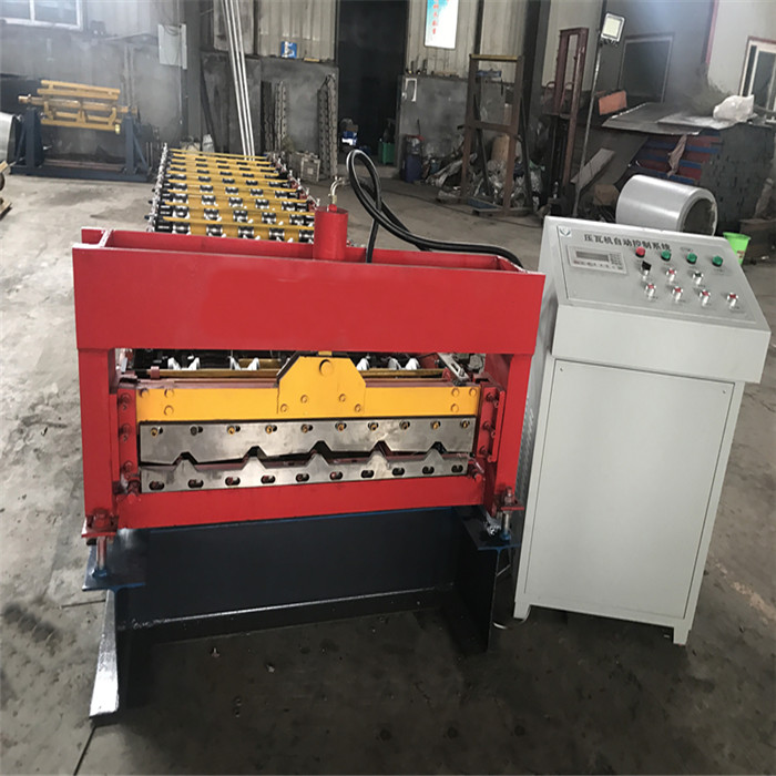 color plain roll forming machine