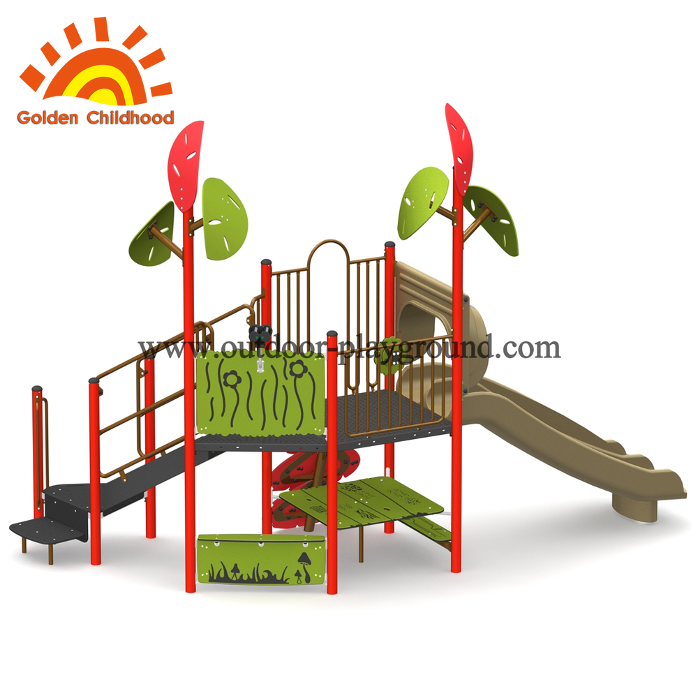 Commercial outdoor playground design equipment