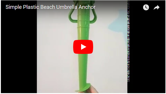 Simple Sand Umbrella Anchor