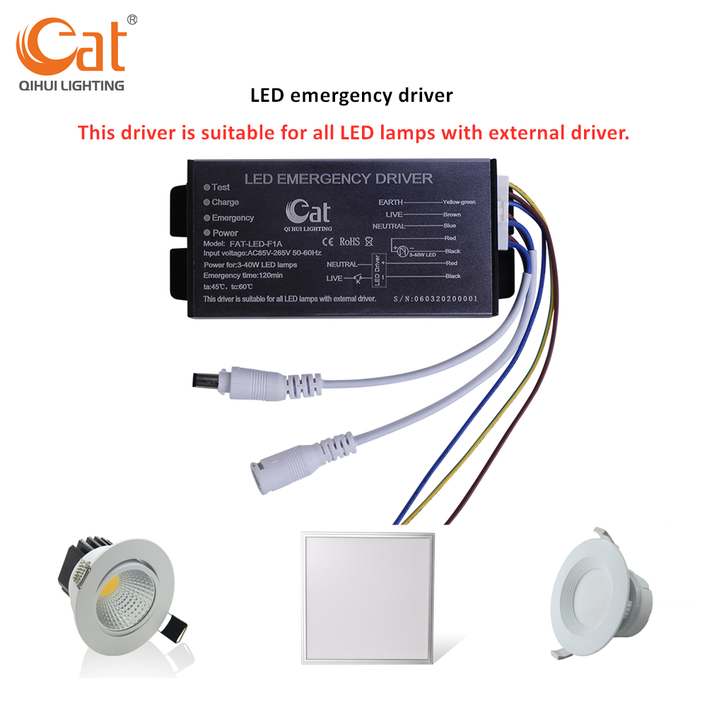 application of emergency led power supply