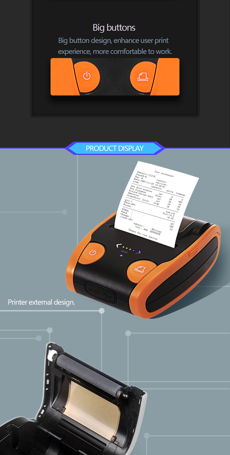 thermal Bluetooth Printer 2