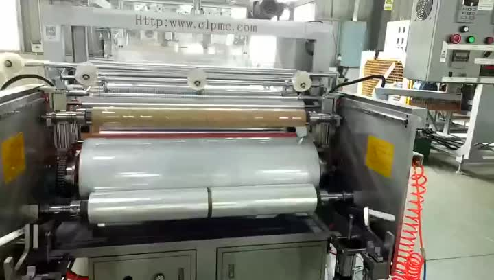 Buena calidad barata ChangLong CL-5570A film stretch line.mp4