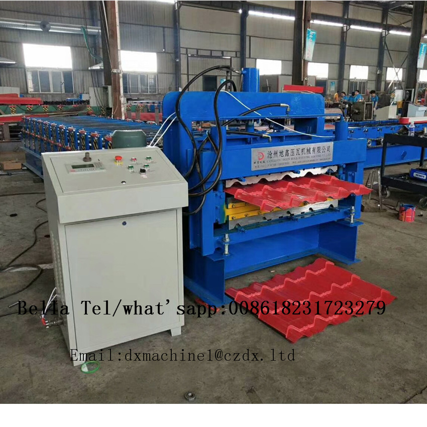 double layer roof sheet roll forming machine for sale