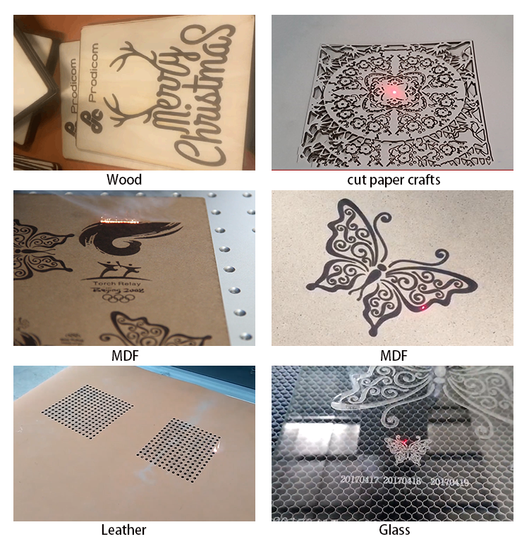 Laser Marking Machine Engraved Leather