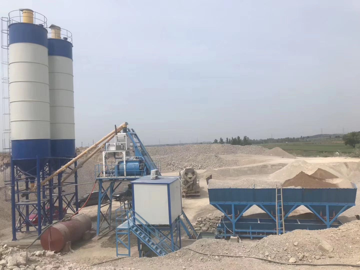 Concrete batch plant 40 in Sakhalin Russia